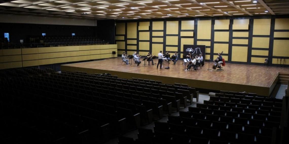Desde o início da pandemia, é a primeira vez que a Ospa se apresenta com uma formação de orquestra de câmara