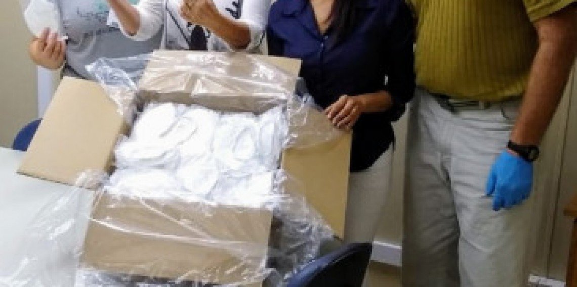 Doação de 250 máscaras - Coopershoes