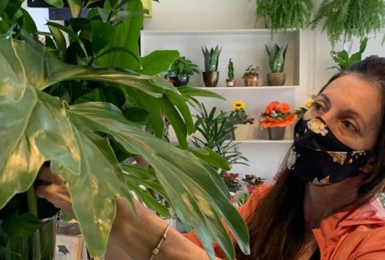 Flávia Maria Pagliarini, 47 anos, Florista e proprietária da Floricultura Fiore