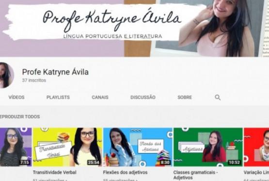Canal da professora Katryne Ávila